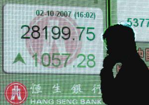 内地千亿资金搅热香港股市