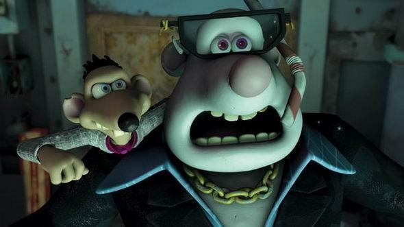 《冲走小老鼠》粘土动画小老鼠拯救世界(14)图片