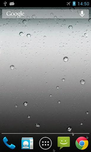 iphone雨滴动态壁纸