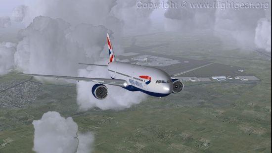 免费模拟飞行 FlightGear for Mac