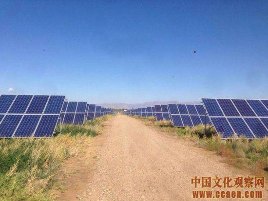 亿利产业扶贫新能源发电项目