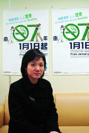 香港卫生署控烟办主管:禁烟不是步欧美后尘