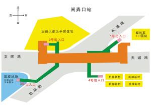闸弄口站、艮山门站开挖后路面将建钢桥保证交通