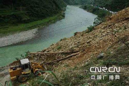 贵州12个县遭强降雨袭击受灾(图)