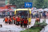 四川发生洪灾5市县城区进水 22人死亡10人失踪