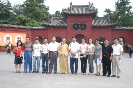 临 新闻动态 洛阳博物馆 白马寺