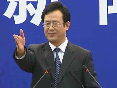 王勇平:我代表铁道部发言(图)