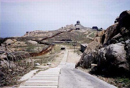台湾军人偷拍金门导弹阵地照片(图)