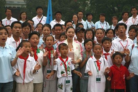 西部师生游览梦想之地-北京大学