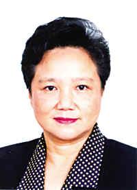 右:中国科协常务副主席,党组书记邓楠(妹妹)