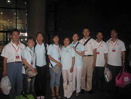 站台洒热泪西部教师北京奥运行活动圆满结束
