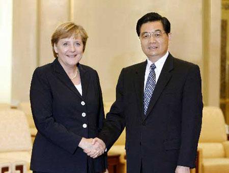 默克尔访华将全面深化中德双边关系