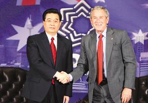 胡锦涛:必须更严厉警告台湾当局