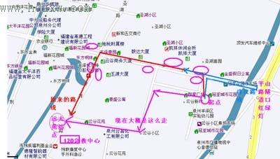 26路公交车线路图;