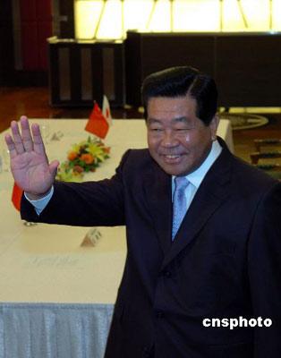 贾庆林称日本政局变化不影响中日友好
