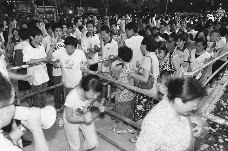 海沧卡乐广场美食:近万人疯抢免费美食滨北附近晚餐图片