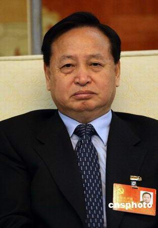 俞正声兼任上海市委书记罗清泉任湖北省委书记