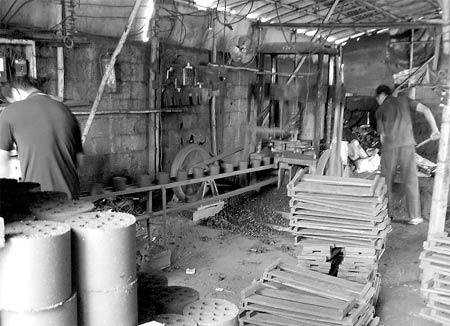 海口未经环保审批煤球厂领到工商执照(图)