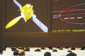 嫦娥一号卫星飞向月球
