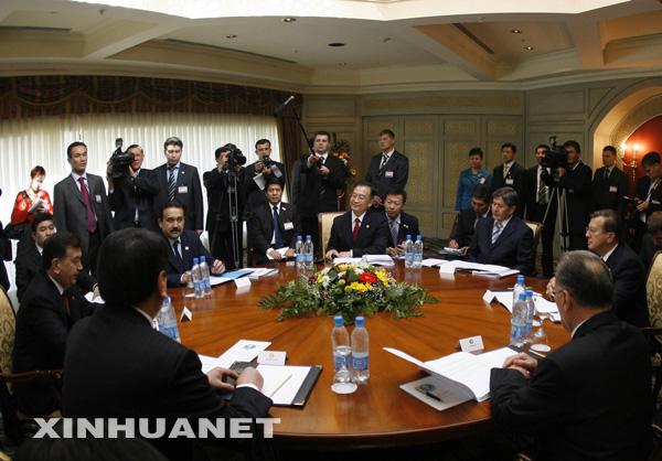 温家宝在上合组织成员国总理会议上讲话(摘要)