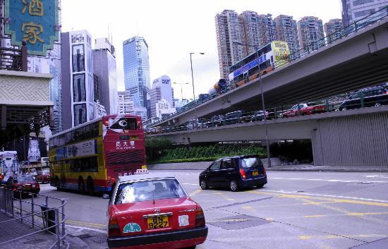 香港跑马地一带的楼群