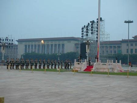 图文:国旗护卫队