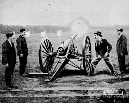 1900年奥运会上的特殊比赛项目火炮攻击