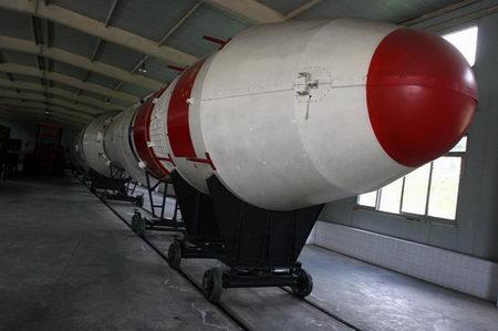 图文:实体火箭