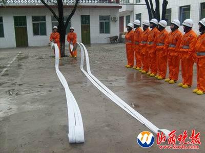 山西吕梁成立全国首支女子消防队(组图)