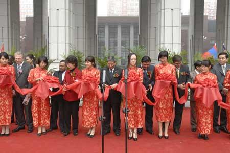 组图:中国人民大学国际文化节