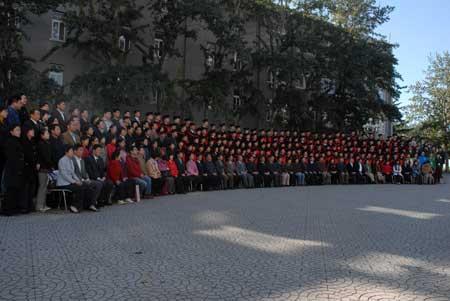 组图:人大网络教育学院2007毕业学位授予仪式