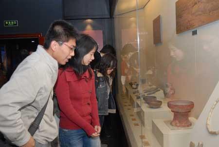 组图:北方文物展开展仪式