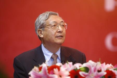 图文:北京大学校长许智宏致贺辞