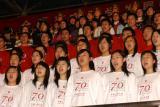 图文:大会在《中国人民大学之歌》中落下帷幕