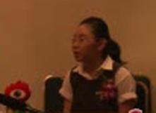 对话新加坡学生代表沈芷齐