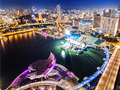 新加坡璀璨夜景