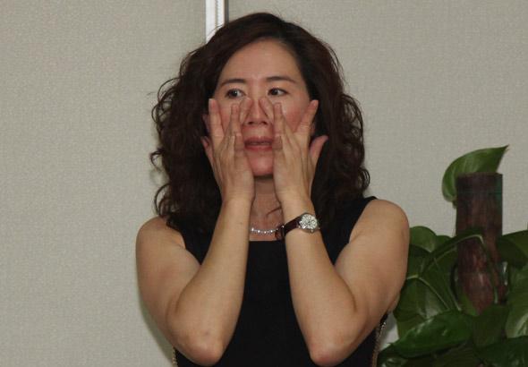 Vicky老师分享私家美肤手法