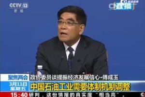 政协委员:肃清石油行业中周永康余毒