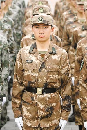 设计师详解07式军服图片