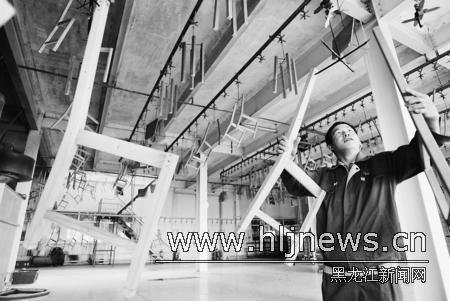 加工向精加工过渡,木制品及木材产品销往国内外市场