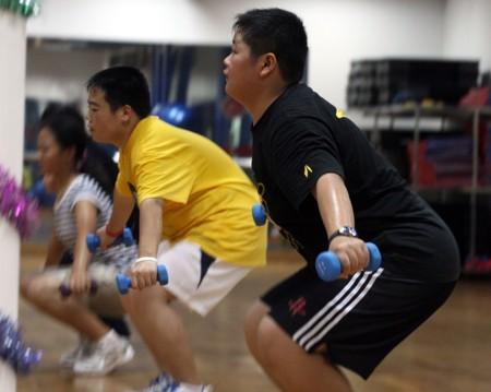 合肥举办青少年暑期健康减肥训练营