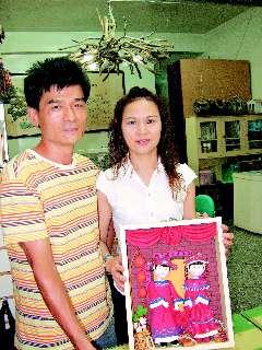 台南女子学黏土玩出一片天黏土作品成抢手货(图)