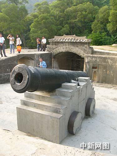虎门威远炮台 形势壮观历史价值巨大