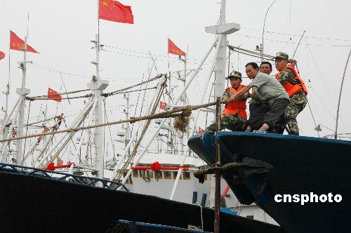 组图:浙江积极应对年内最大台风