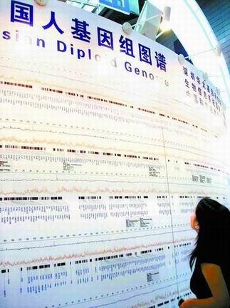 炎黄一号:首份中国人基因组图谱公布