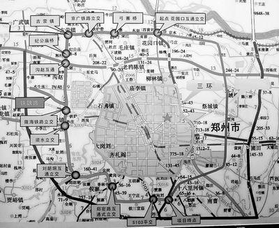 石家庄四环规划图-郑州五环路 郑州五环路 qq2936695267
