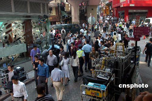 电影 蝙蝠侠 在港拍续集大批市民围观