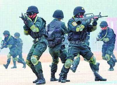 """电记者12日从武警部队有关部门获悉,中国武警""""雪豹突击队""""目前图片"""