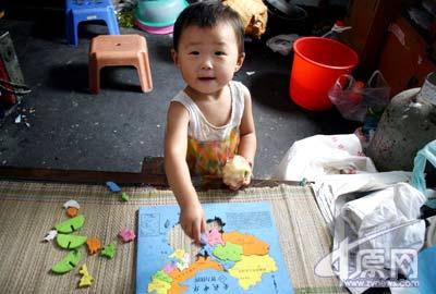 两龄童能记800多英语单词知百余国家首都(图)