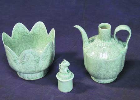 市民收藏的瓷壶
